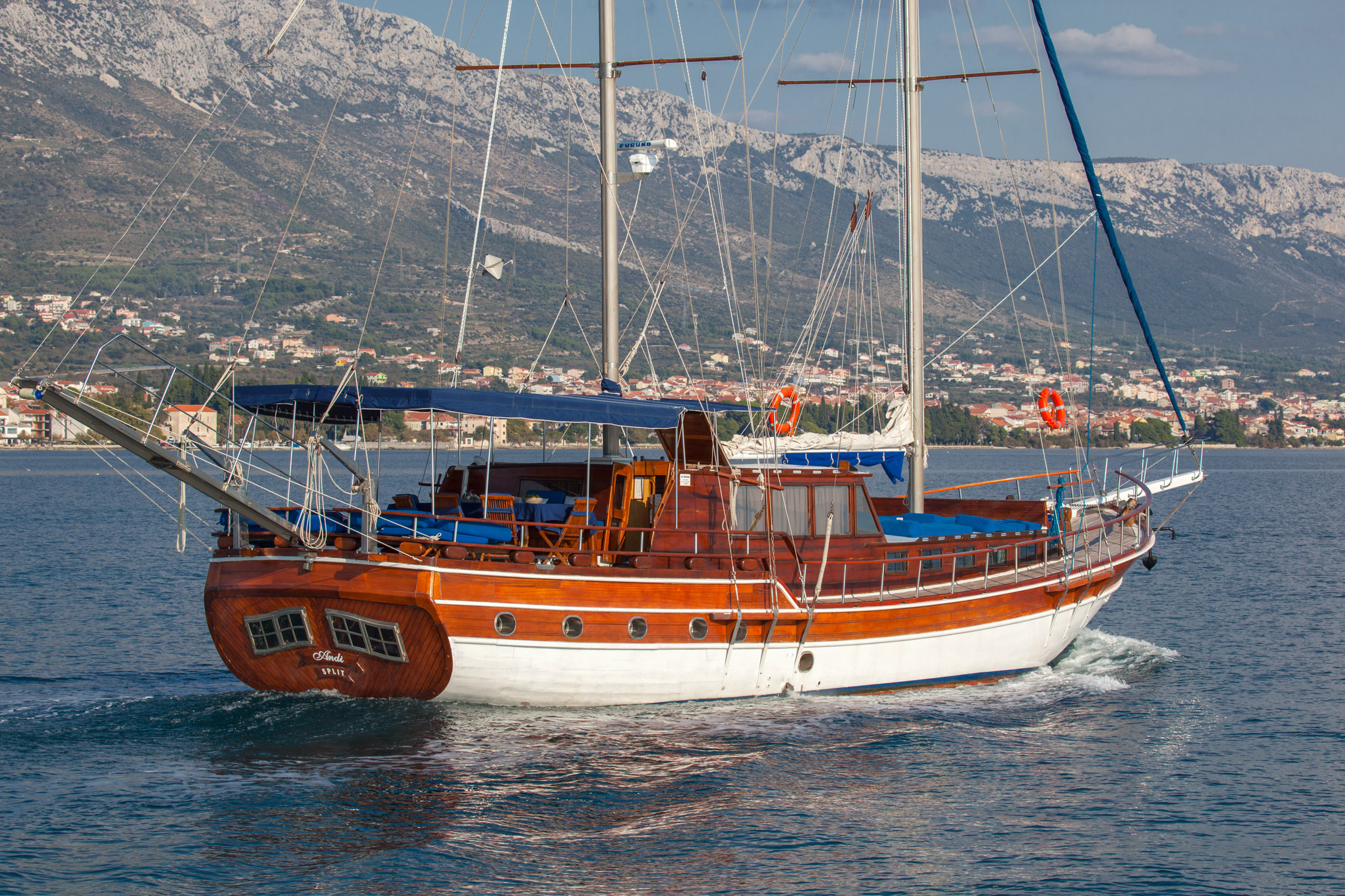 Gulet Andi for charter in Croatia