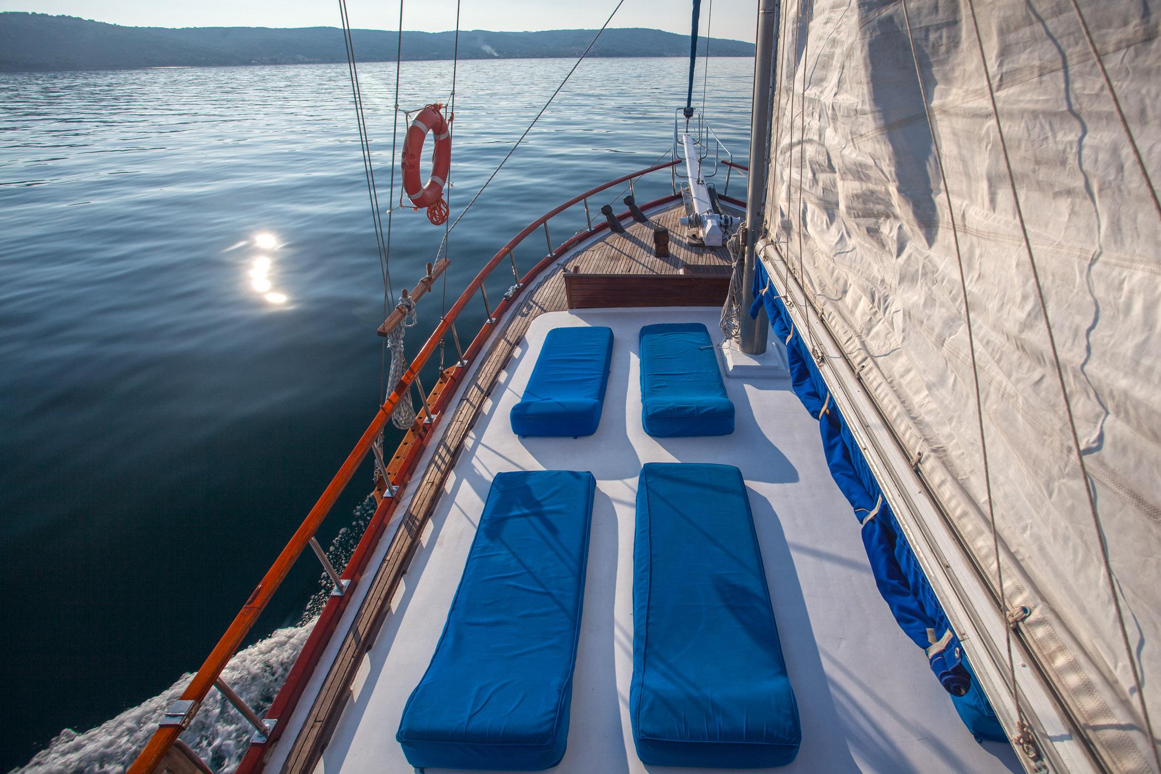 Gulet Andi for charter in Croatia