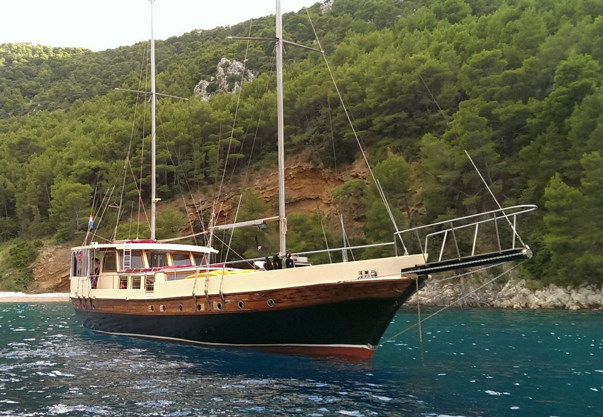 Gulet Blue Pearl for charter in Croatia